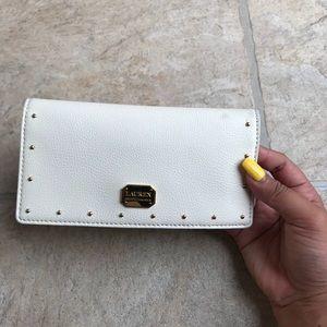 Lauren Ralph Lauren white wallet